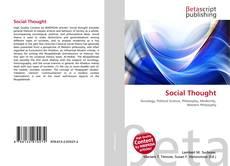 Social Thought kitap kapağı