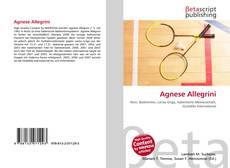 Buchcover von Agnese Allegrini