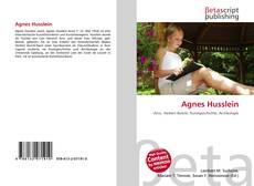 Обложка Agnes Husslein