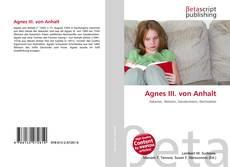 Обложка Agnes III. von Anhalt