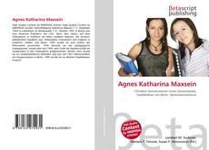 Portada del libro de Agnes Katharina Maxsein