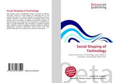 Обложка Social Shaping of Technology