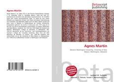 Agnes Martin kitap kapağı