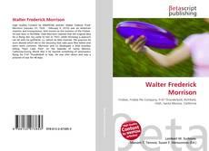 Capa do livro de Walter Frederick Morrison
