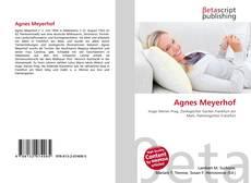 Borítókép a  Agnes Meyerhof - hoz