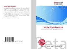 Bookcover of Wola Wierzbowska