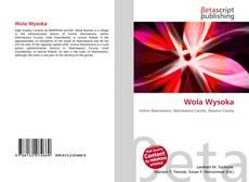 Обложка Wola Wysoka