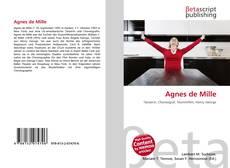 Обложка Agnes de Mille