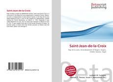 Capa do livro de Saint-Jean-de-la-Croix