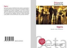 Buchcover von Ogens