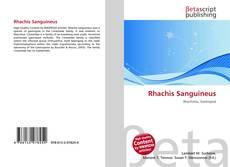 Обложка Rhachis Sanguineus