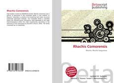 Обложка Rhachis Comorensis