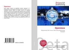 Capa do livro de OpenJava