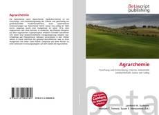 Buchcover von Agrarchemie