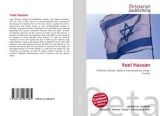 Portada del libro de Yoel Hasson
