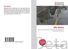Capa do livro de MV Alexia