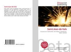 Обложка Saint-Jean-de-Vals