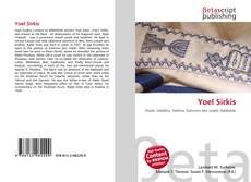 Bookcover of Yoel Sirkis