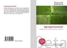 Capa do livro de Agrargemeinschaft