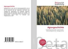 Portada del libro de Agrargeschichte