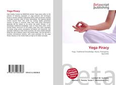 Bookcover of Yoga Piracy