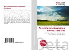 Bookcover of Agrarinformationsmanagement-Standards