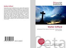 Buchcover von Walter Giffard