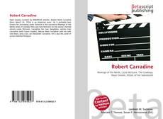 Robert Carradine kitap kapağı