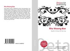 Rha Woong-Bae kitap kapağı