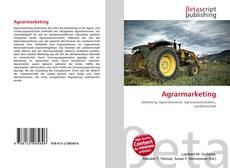 Buchcover von Agrarmarketing