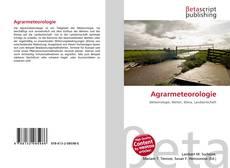 Bookcover of Agrarmeteorologie