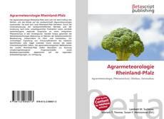 Copertina di Agrarmeteorologie Rheinland-Pfalz