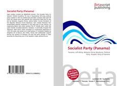 Capa do livro de Socialist Party (Panama)