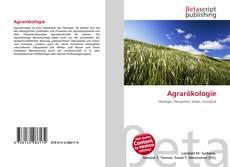 Capa do livro de Agrarökologie