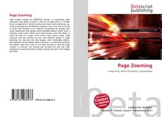 Bookcover of Page Zooming