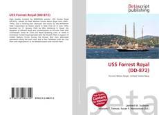 Portada del libro de USS Forrest Royal (DD-872)