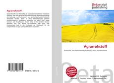 Bookcover of Agrarrohstoff