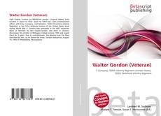 Bookcover of Walter Gordon (Veteran)