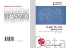 Bookcover of Yogesh Chander Deveshwar