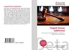 Couverture de Yogesh Kumar Sabharwal