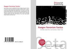 Bookcover of Paegan Terrorism Tactics