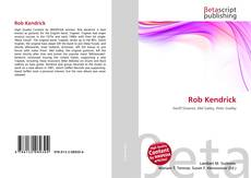 Bookcover of Rob Kendrick