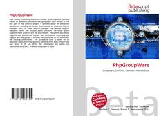 Bookcover of PhpGroupWare