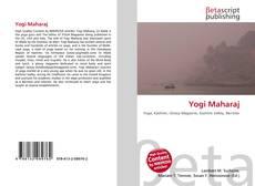Обложка Yogi Maharaj