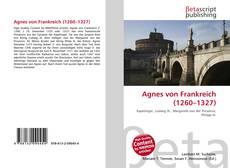 Buchcover von Agnes von Frankreich (1260–1327)
