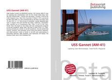 Обложка USS Gannet (AM-41)