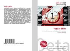 Bookcover of Yograj Bhat