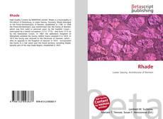 Bookcover of Rhade