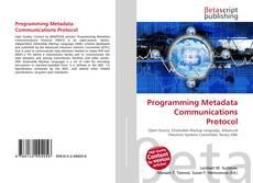 Copertina di Programming Metadata Communications Protocol