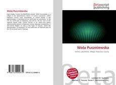 Обложка Wola Puczniewska